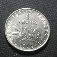 France 1973 1  FRANC   Obv: The Seed Sower