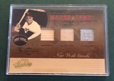2005 Donruss Marks Of Fame Willie Mays New York Giants Triple Relic 18/25