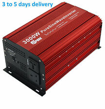 Spark 3000w (6000W)  pure sine wave power inverter 12v Soft start 240V AC