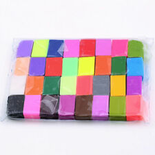 32xColorful Soft Polymer Plasticine Fimo  Clay Blocks DIY Educational Toy J#