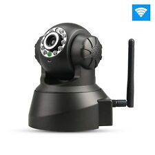 P2P IP Camera Wifi Wireless Audio Indoor Network Security Night Vision Free DDNS
