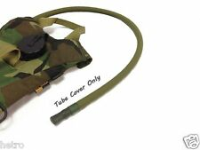 OD Green Military Hydration Backpack Drink Tube Cover Sleeve for water bladder
