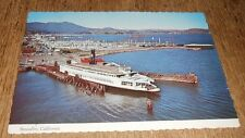 Vintage Postcard Sausalito Marin County Ferry Boat