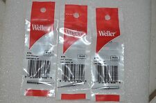 3 x Original Weller ETS 1/64 Long Conical Soldering Iron Tip WES51 PES51