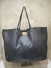 Mulberry Dorset Tote Medium Black Nappa Leather Shoulder Bag