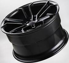 4 x 20 inch OC502 NEW BLACK WHEELS HOLDEN VZ VE VF FORD BA BF FG NISSAN AUDI
