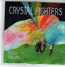 (BT423) Crystal Fighters, Follow / Swallow - DJ CD