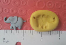 circus ELEPHANT SILICONE MOLD 4 FONDANT polymer clay resin soap chocolate candy