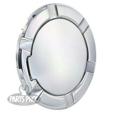 NEW Polished Non-Locking Gas Fuel Door / FOR FORD F150 TRUCK 1997-2003