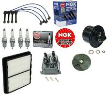 Complete Tune Up Kit Filters,Cap,Rotor,NGK Wires & Plugs Civic EX Si D16Z6 V-Tec
