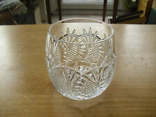 """Waterford Seahorse 14oz Double Old Fashioned Glass - 3 1/2"""" - Last One"""