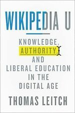 Tech. edu a Hopkins Series on Education and Technology Ser.: Wikipedia U :...