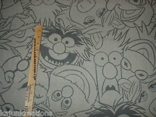"the MUPPETS disney CHARACTER 50"" LICENSED bthy FABRIC to sew your own VALANCE"