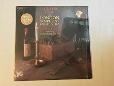 A Classic Case London Symphony Plays JETHRO TULL Ian Anderson LP RCA In Shrink