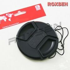 77mm Center Pinch Snap on Front Lens Cap Cover for Nikon Canon Sony DSLR 77 mm