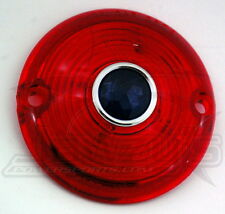 Turn Signal Lens Chris Products Red with Blue Dot DHD3RB