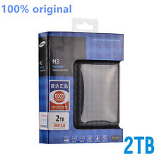"Hot! 2017 Hard Disk 2TB HDD External 2.5 ""3.0 Portable USB Hard Drive M3 Black"