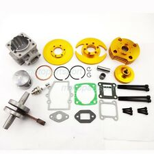 44mm Cylinder Piston Big Bore kit Set For 47cc 49cc Mini Quad Dirt Pocket Bike