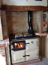 Flameview-  a wood / coal/ burning rayburn type range cooker with a glass door
