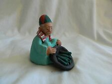 Egyptian Real Life Clay Figurine Collectible Hand Made
