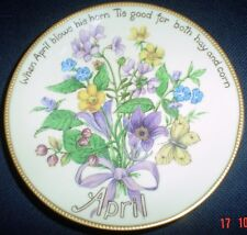 Davenport Limited Edition APRIL Collectors Plate Edith Holden