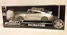 JADA 1:18 Fast and Furious 7 - Brian's Nissan GT-R R35 - Silver