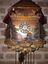 vintage German Musical cuckoo Clock DRGM