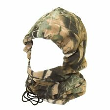 FLEECE FOREST TREE CAMO SNOOD REAL WARM CARP FISHING HUNTING NEW