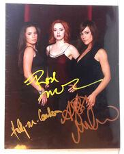 Charmed TV Autograph 8x10 Color Photo-Signe by 3 Actors (EBAU-1356)