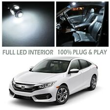 LED Interior Dome Map Light Bulb Kit Xenon White for 2016 Honda Civic Sedan