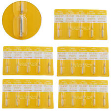 5X Dental MANI Diamond Burs Flame ogival end FO-21EF Extra Fine 5pc/pack