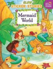 Sticker Stories: Mermaid World (2000, Paperback)