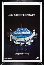 STAR WARS * CineMasterpieces 1978 RARE HAPPY BIRTHDAY 1SH ORIGINAL MOVIE POSTER