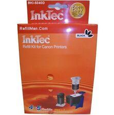 Inktec Ink Cartridge Black Refill Kit Canon Pixma MG 4150 4250 MX 435 PG-540