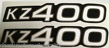KAWASAKI KZ400 Z400 SIDE PANEL DECALS