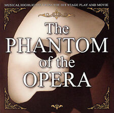 (CD) The Phantom of the Opera - Musical Highlights From Stage Play And Movie