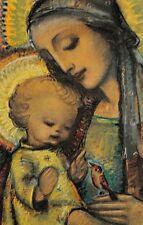 """Fleißbildchen Heiligenbild Gebetbild """" Hummel """" Holy card Ars sacra"""" H649"""""""