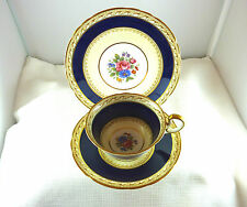 Antique Aynsley 1934 -1939 Bone China England 7303 Trio Set
