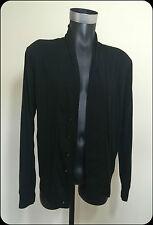 Paul Smith cardigan jumper BNWT 100% auténtico tamaño S pequeño Negro VENTA RRP £ 139