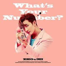 K-pop Zhoumi - What's Your Number? (2nd Mini Album) (ZHOU02MN)
