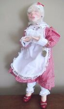 JKC jacqueline kent SCULPTURE fairy grandmother GRANNY doll FIGURINE cake MARION