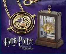Harry Potter Necklace Hermione Granger Rotating Spins time turner hourglass