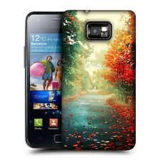 CUSTODIA COVER per SAMSUNG GT i9100 GALAXY S2 TPU BACK CASE AUTUNNO