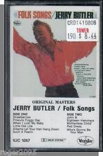 Jerry Butler - Folk Songs - New 1988 VeeJay Cassette Tape!