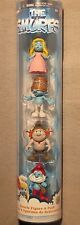 Smurfs 4 piece Pack/Smurfette/Clumsy/Hackus/Papa Smurf Cylinder New & Sealed