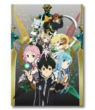 Sword Art Online Alfheim Group Poster Ichiban Kuji 2 E Prize Anime MINT