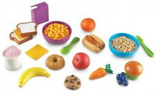 Play Set Food Kids Pretend Toy Learning Resources Familiar Foods Toddlers Bread