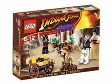 LEGO 7195 - INDIANA JONES - Ambush in Cairo - 2009 - NEW IN BOX