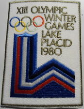 1980  USA  HOCKEY  OLYMPIC WINTER GAMES   LAKE  PLACID  PATCH