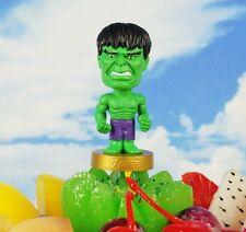 Cake Topper Marvel Superheros Avengers Incredible Hulk Toy Model Figure K1122_B